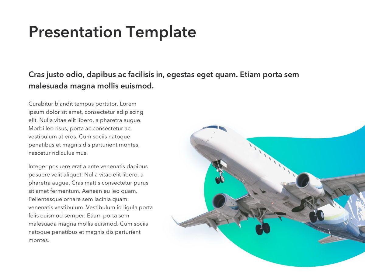 Travel Agency PowerPoint Template, Slide 6, 05162, Presentation Templates — PoweredTemplate.com