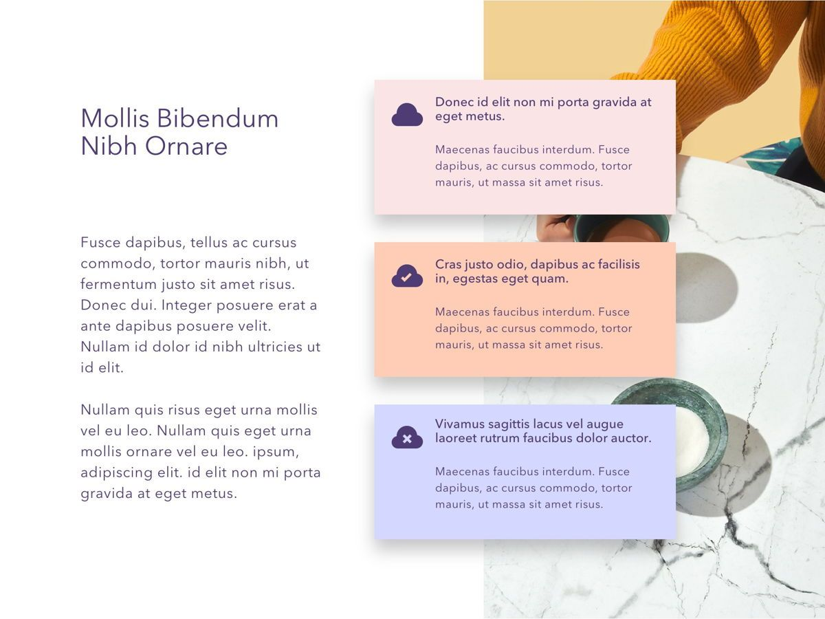 Marble PowerPoint Template, Slide 6, 05167, Presentation Templates — PoweredTemplate.com