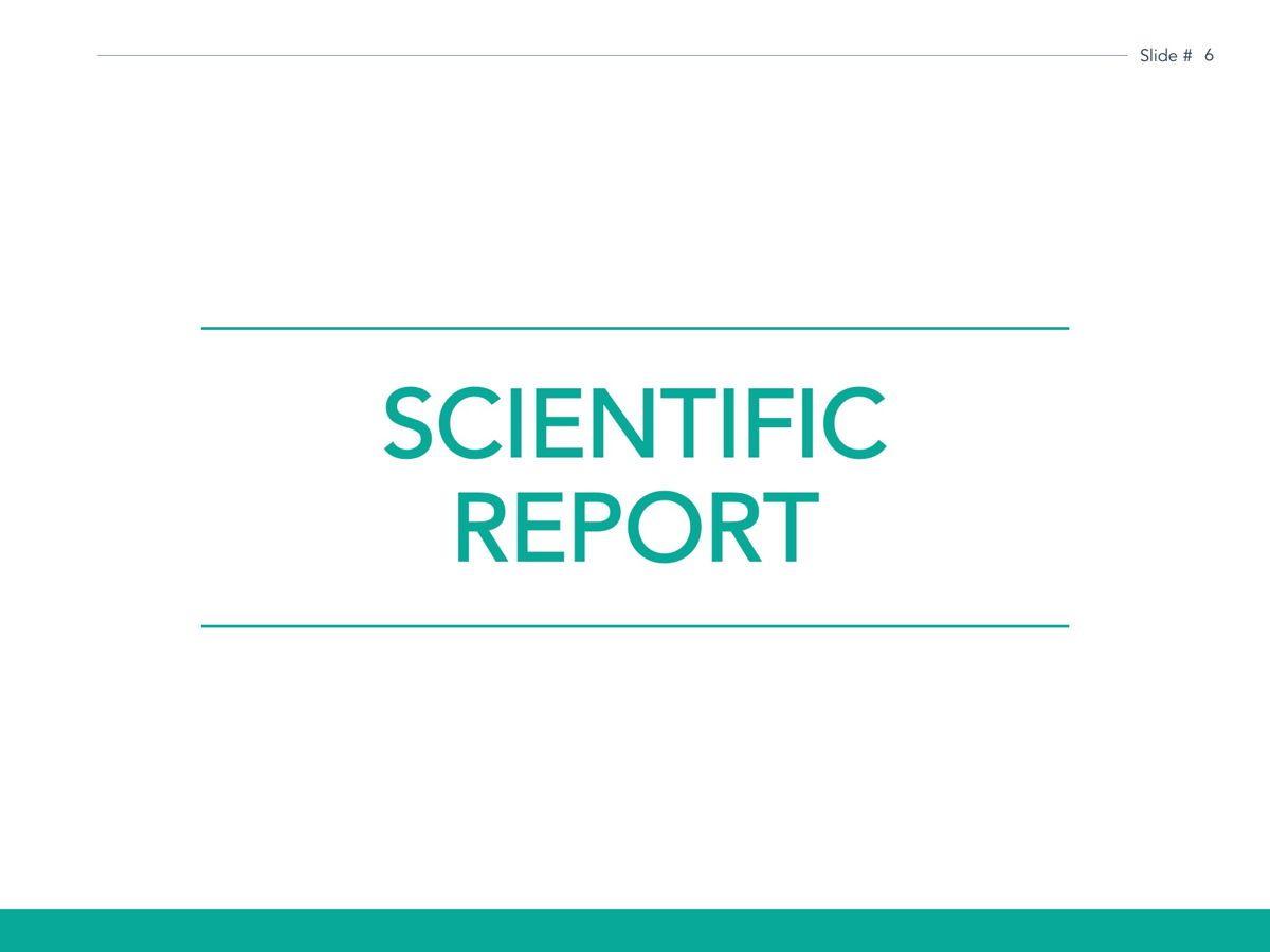 Scientific Report Google Slides Theme, Slide 7, 05170, Presentation Templates — PoweredTemplate.com