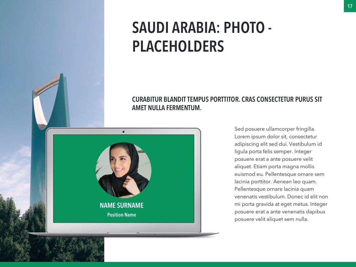 Country Saudi Arabia PowerPoint Template, Slide 17, 05171, Presentation Templates — PoweredTemplate.com