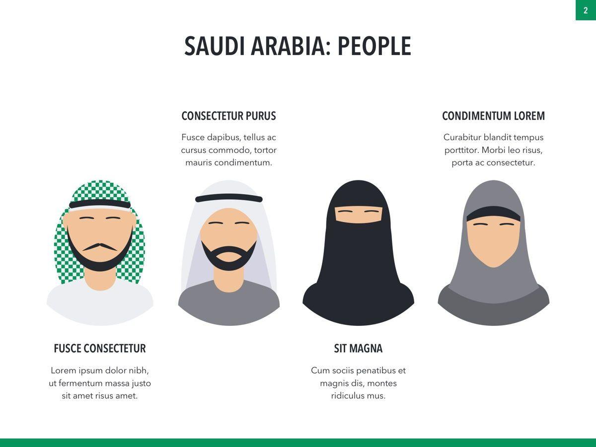 Country Saudi Arabia PowerPoint Template, Slide 2, 05171, Presentation Templates — PoweredTemplate.com
