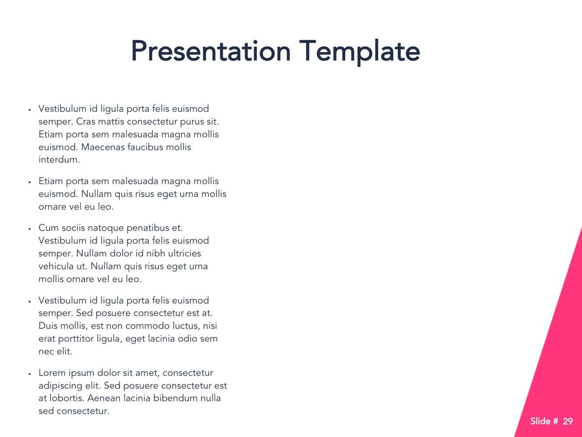 Perfect Training Google Slides Theme, Slide 30, 05172, Presentation Templates — PoweredTemplate.com