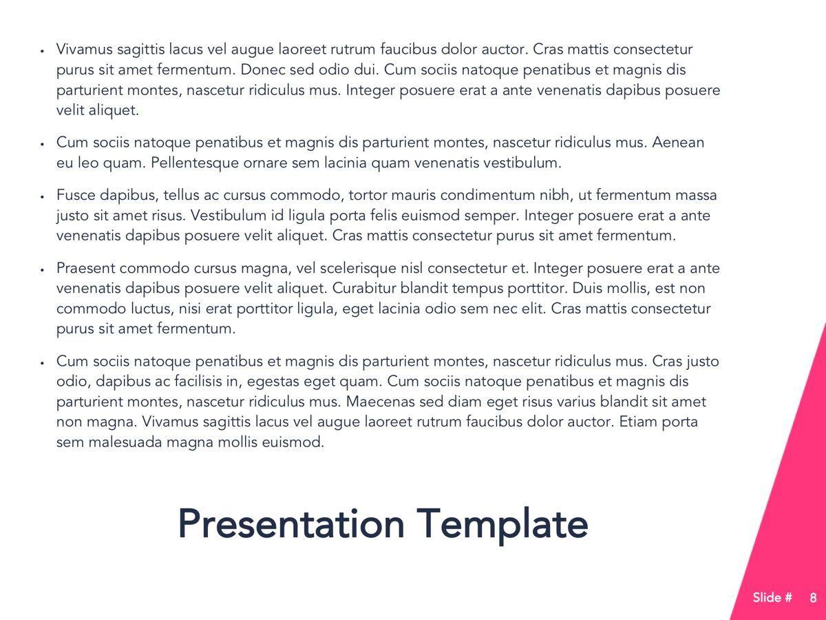 Perfect Training Google Slides Theme, Slide 9, 05172, Presentation Templates — PoweredTemplate.com