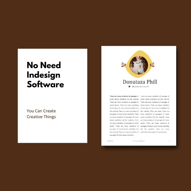 Cake bakery ebook keynote template, Slide 3, 05173, Presentation Templates — PoweredTemplate.com