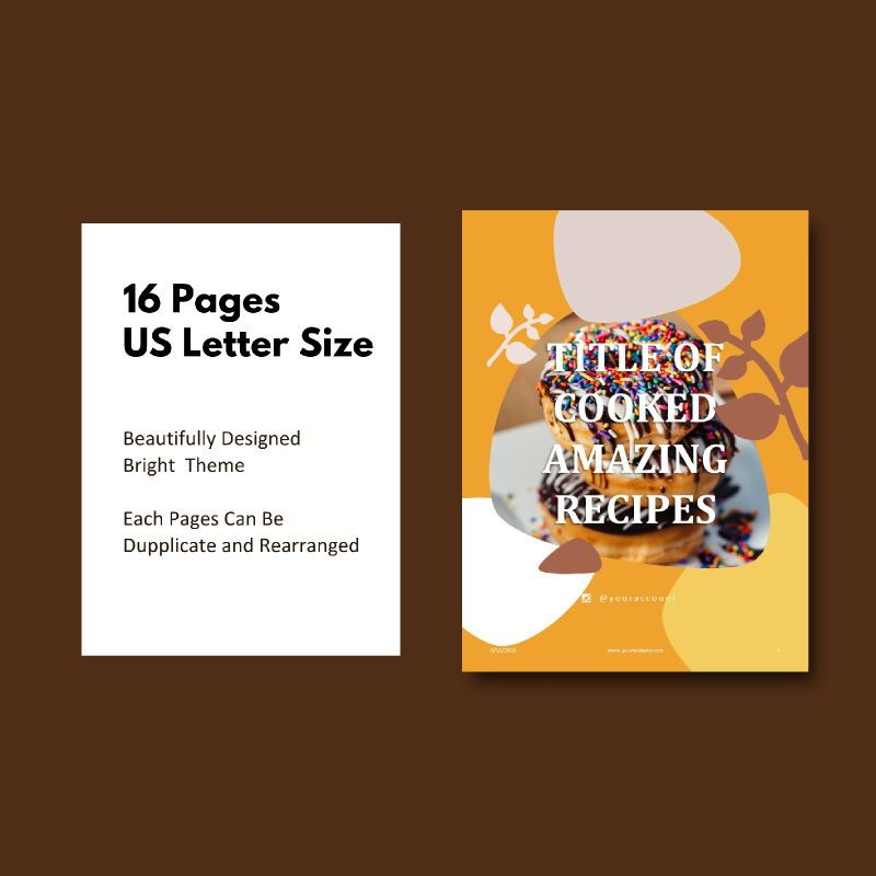 Cake bakery ebook keynote template, Slide 5, 05173, Presentation Templates — PoweredTemplate.com