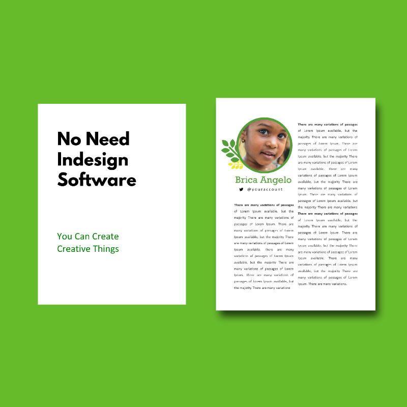 Vegan ebook keynote template, Slide 3, 05175, Presentation Templates — PoweredTemplate.com
