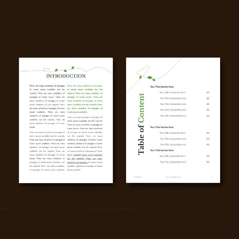 Vegetarian recipe ebook keynote template, Slide 4, 05177, Presentation Templates — PoweredTemplate.com