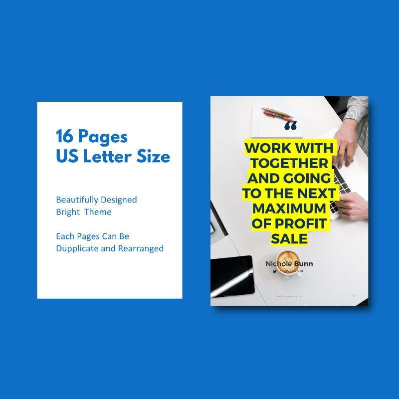 Company profile 2020 ebook keynote template, Slide 5, 05179, Business Models — PoweredTemplate.com