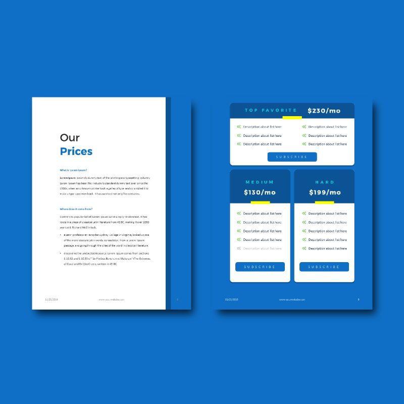 Company profile 2020 ebook keynote template, Slide 6, 05179, Business Models — PoweredTemplate.com
