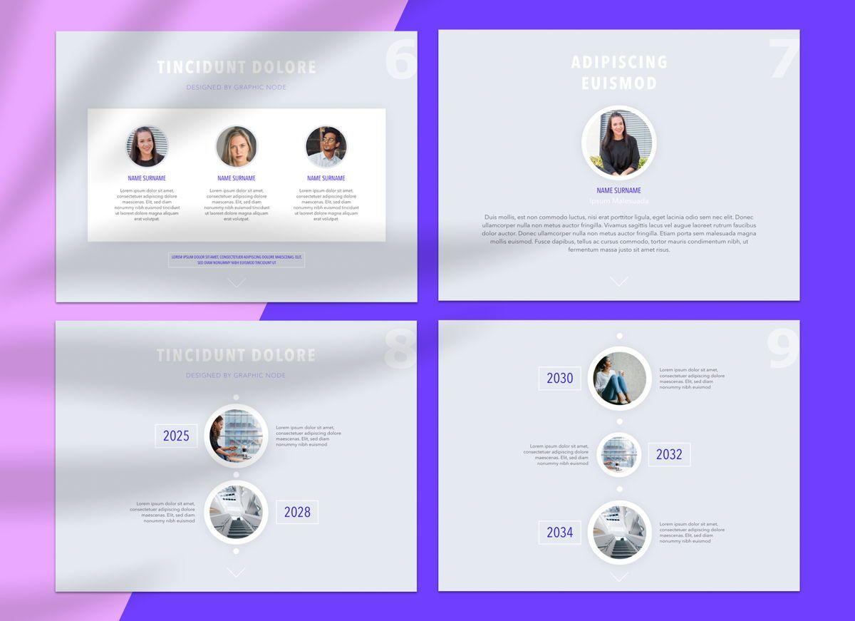 Dream Team Google Slides Presentation Template, Slide 2, 05184, Presentation Templates — PoweredTemplate.com