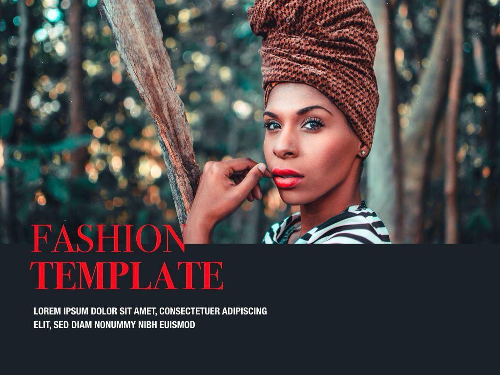 Fashion Tale Google Slides Presentation Template, 05188, Presentation Templates — PoweredTemplate.com