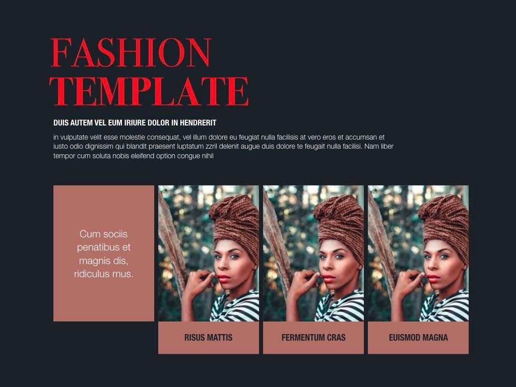 Fashion Tale Google Slides Presentation Template, Slide 7, 05188, Presentation Templates — PoweredTemplate.com