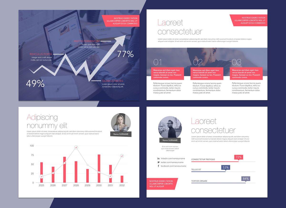 Front Row Google Slides Presentation Template, Slide 5, 05189, Presentation Templates — PoweredTemplate.com