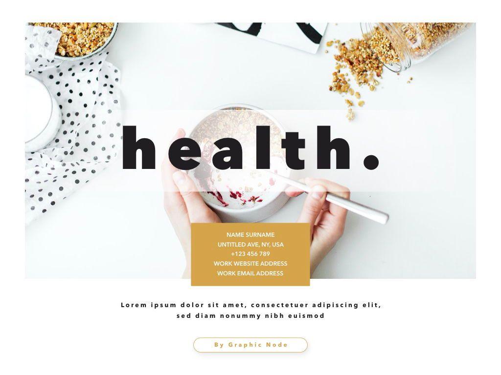 Healthy Google Slides Presentation Template, Slide 15, 05190, Presentation Templates — PoweredTemplate.com