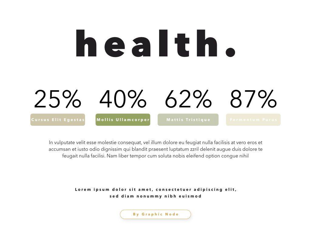 Healthy Google Slides Presentation Template, Slide 8, 05190, Presentation Templates — PoweredTemplate.com