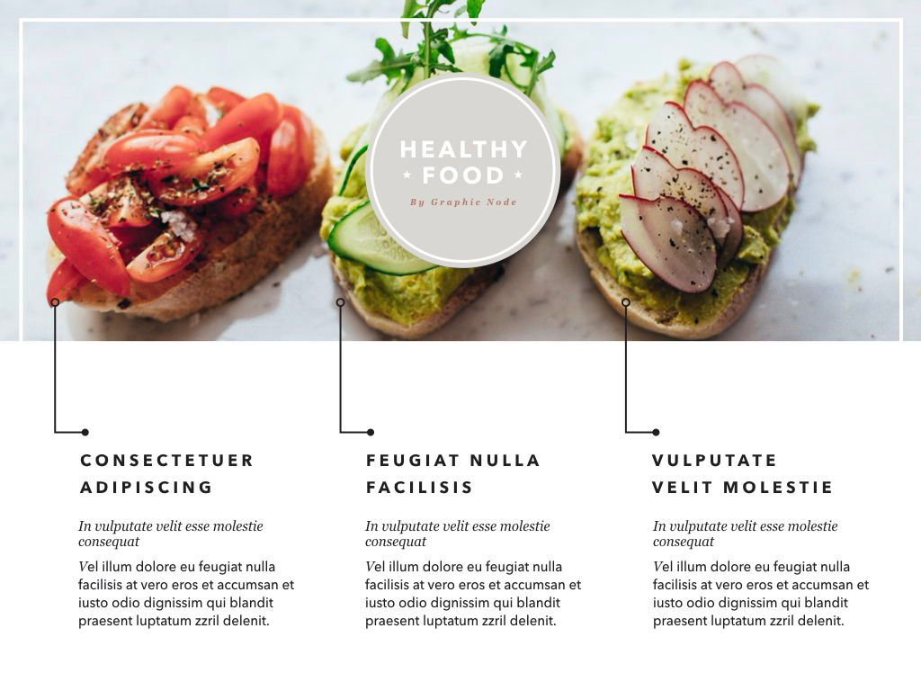 Healthy Diet Google Slides Presentation Template, Slide 2, 05192, Presentation Templates — PoweredTemplate.com