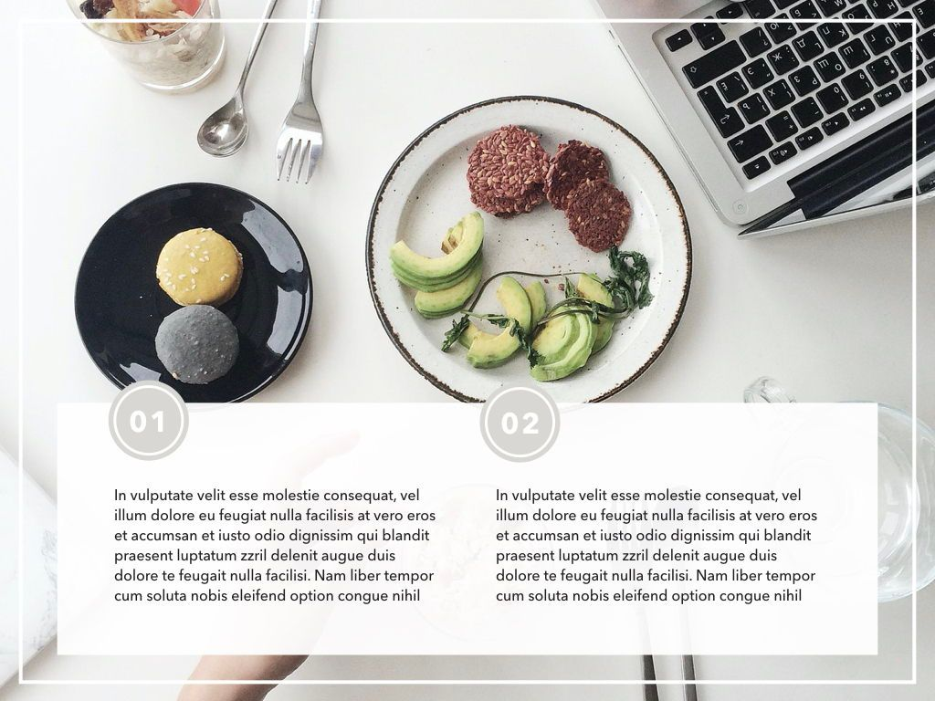 Healthy Diet Google Slides Presentation Template, Slide 3, 05192, Presentation Templates — PoweredTemplate.com