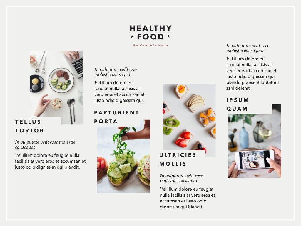 Healthy Diet Google Slides Presentation Template, Slide 5, 05192, Presentation Templates — PoweredTemplate.com