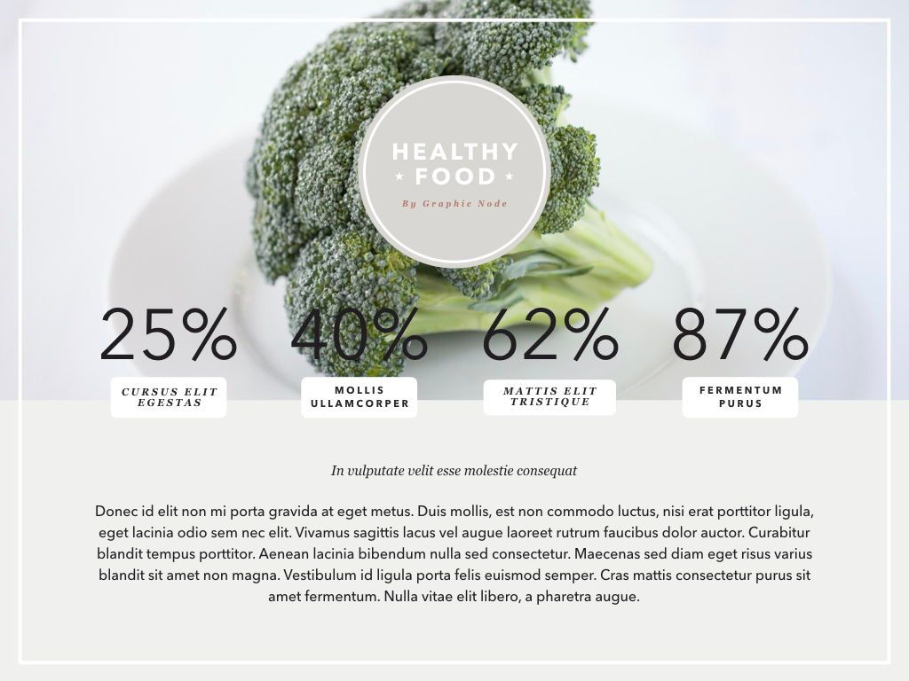 Healthy Diet Google Slides Presentation Template, Slide 7, 05192, Presentation Templates — PoweredTemplate.com