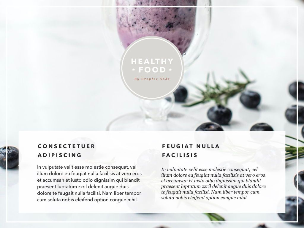 Healthy Diet Google Slides Presentation Template, Slide 9, 05192, Presentation Templates — PoweredTemplate.com
