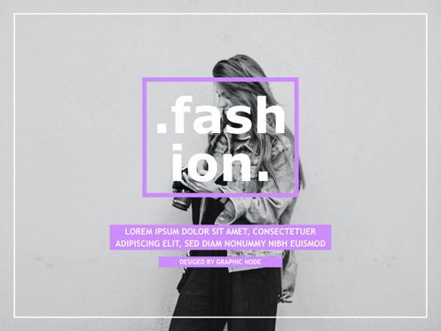 Presentation Templates: High Fashion Google Slides Presentation Template #05193
