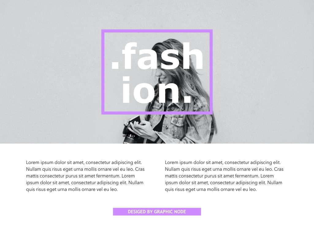 High Fashion Google Slides Presentation Template, Slide 10, 05193, Presentation Templates — PoweredTemplate.com