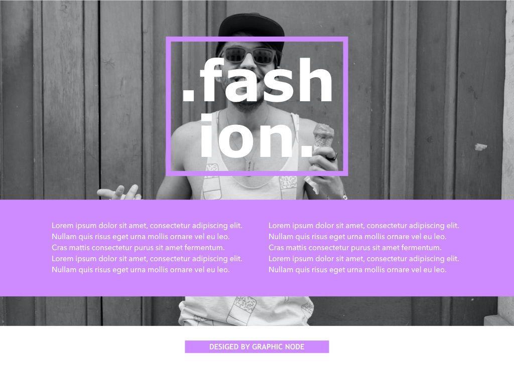 High Fashion Google Slides Presentation Template, Slide 11, 05193, Presentation Templates — PoweredTemplate.com