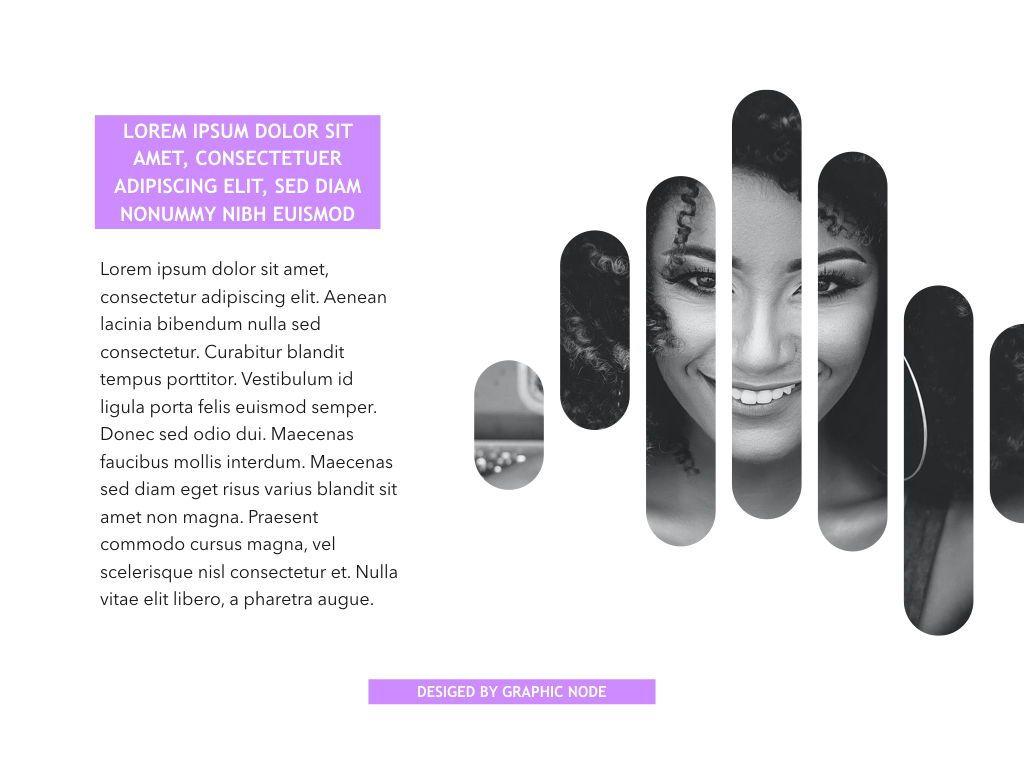 High Fashion Google Slides Presentation Template, Slide 13, 05193, Presentation Templates — PoweredTemplate.com