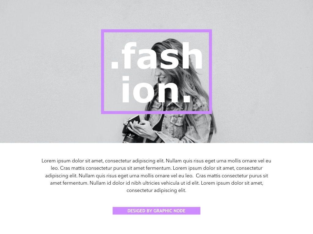 High Fashion Google Slides Presentation Template, Slide 14, 05193, Presentation Templates — PoweredTemplate.com