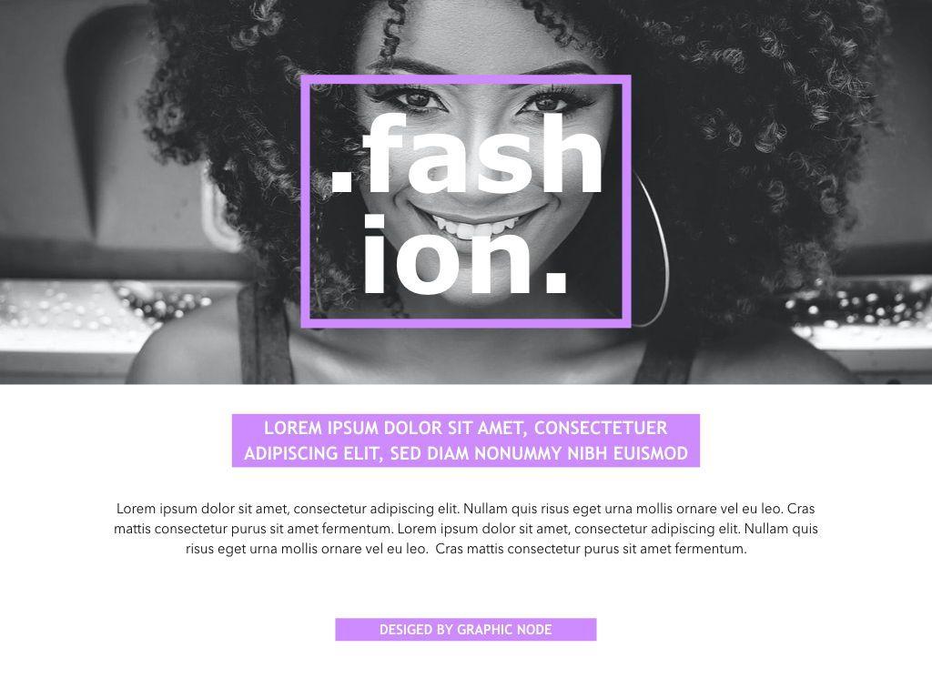 High Fashion Google Slides Presentation Template, Slide 5, 05193, Presentation Templates — PoweredTemplate.com