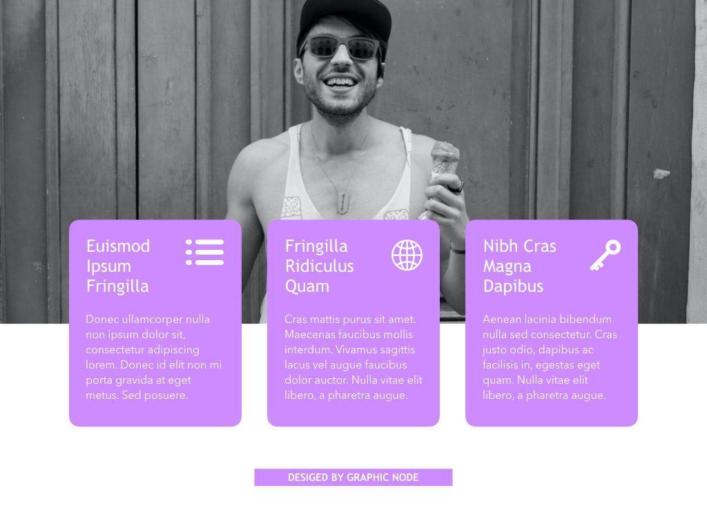 High Fashion Google Slides Presentation Template, Slide 6, 05193, Presentation Templates — PoweredTemplate.com