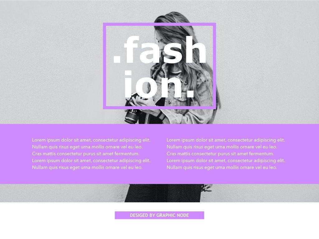 High Fashion Google Slides Presentation Template, Slide 7, 05193, Presentation Templates — PoweredTemplate.com