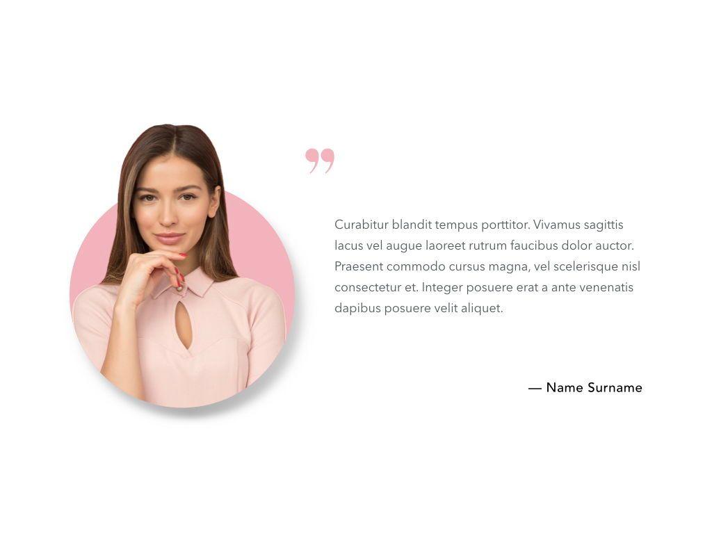 Beauty Maker PowerPoint Template, Slide 15, 05200, Presentation Templates — PoweredTemplate.com