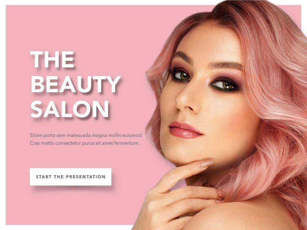 Beauty Maker PowerPoint Template, Slide 2, 05200, Presentation Templates — PoweredTemplate.com