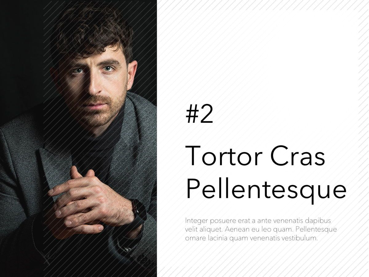 Corporate PowerPoint Template, Slide 2, 05201, Presentation Templates — PoweredTemplate.com