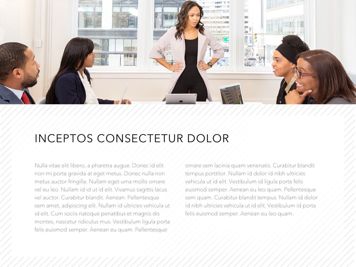 Corporate PowerPoint Template, Slide 5, 05201, Presentation Templates — PoweredTemplate.com