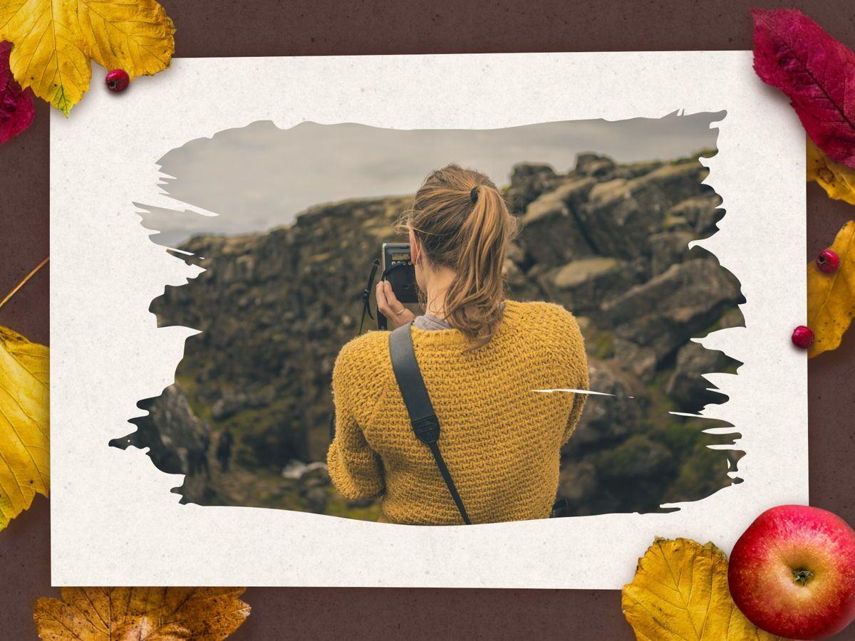 Golden Leaves PowerPoint Theme, Slide 25, 05202, Presentation Templates — PoweredTemplate.com
