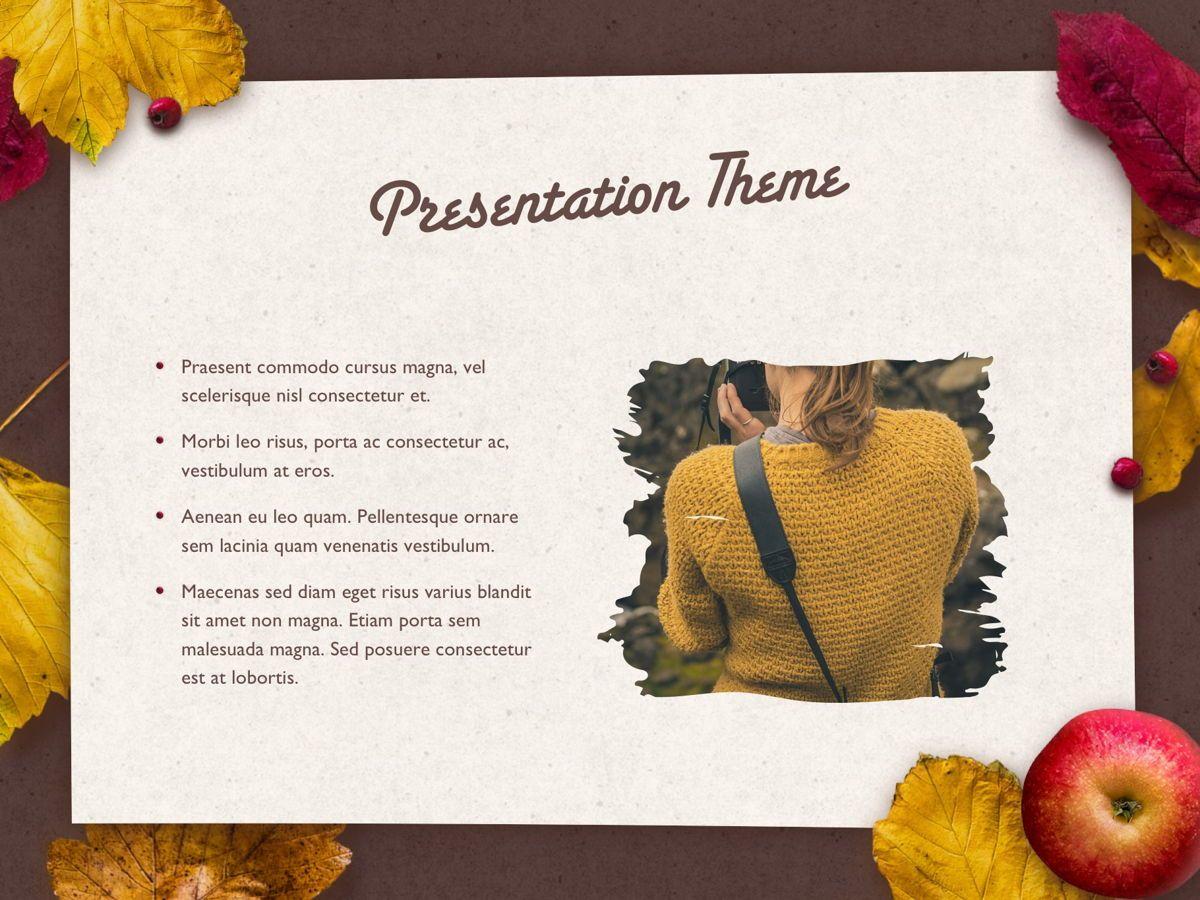 Golden Leaves PowerPoint Theme, Slide 30, 05202, Presentation Templates — PoweredTemplate.com