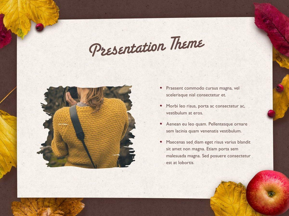 Golden Leaves PowerPoint Theme, Slide 31, 05202, Presentation Templates — PoweredTemplate.com