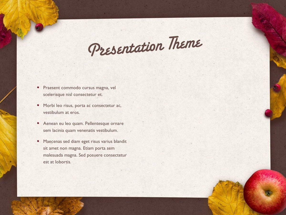 Golden Leaves PowerPoint Theme, Slide 32, 05202, Presentation Templates — PoweredTemplate.com