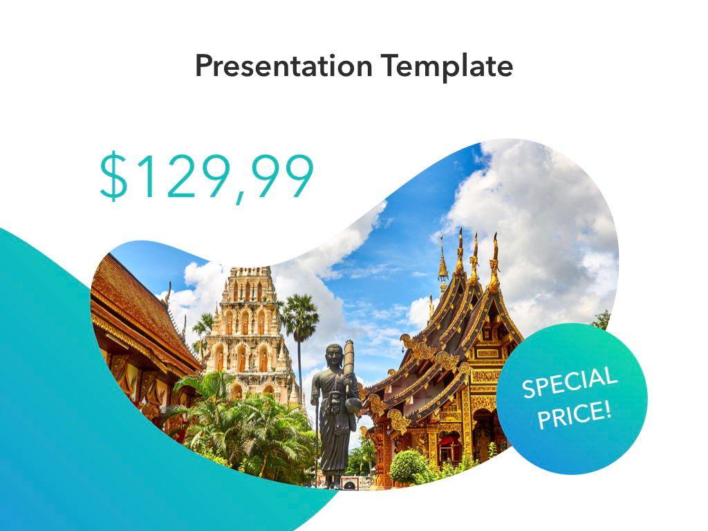 Travel Agency Keynote Template, Slide 11, 05203, Presentation Templates — PoweredTemplate.com