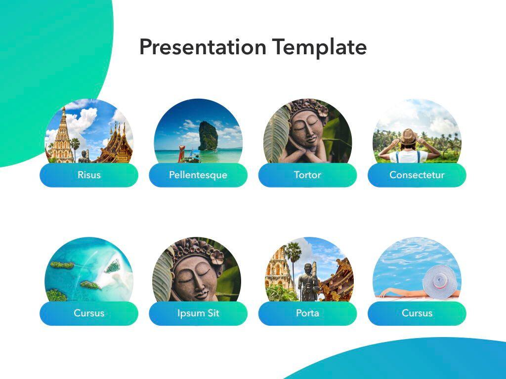 Travel Agency Keynote Template, Slide 12, 05203, Presentation Templates — PoweredTemplate.com