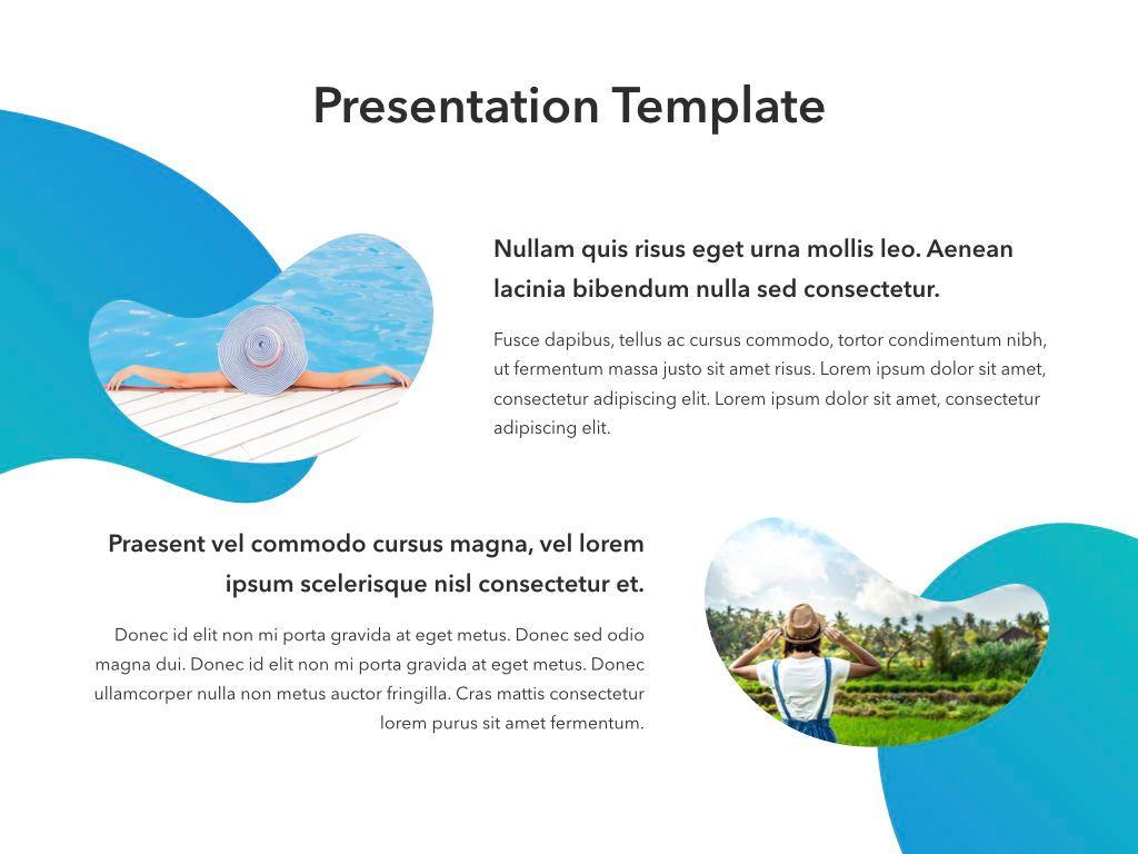 Travel Agency Keynote Template, Slide 14, 05203, Presentation Templates — PoweredTemplate.com