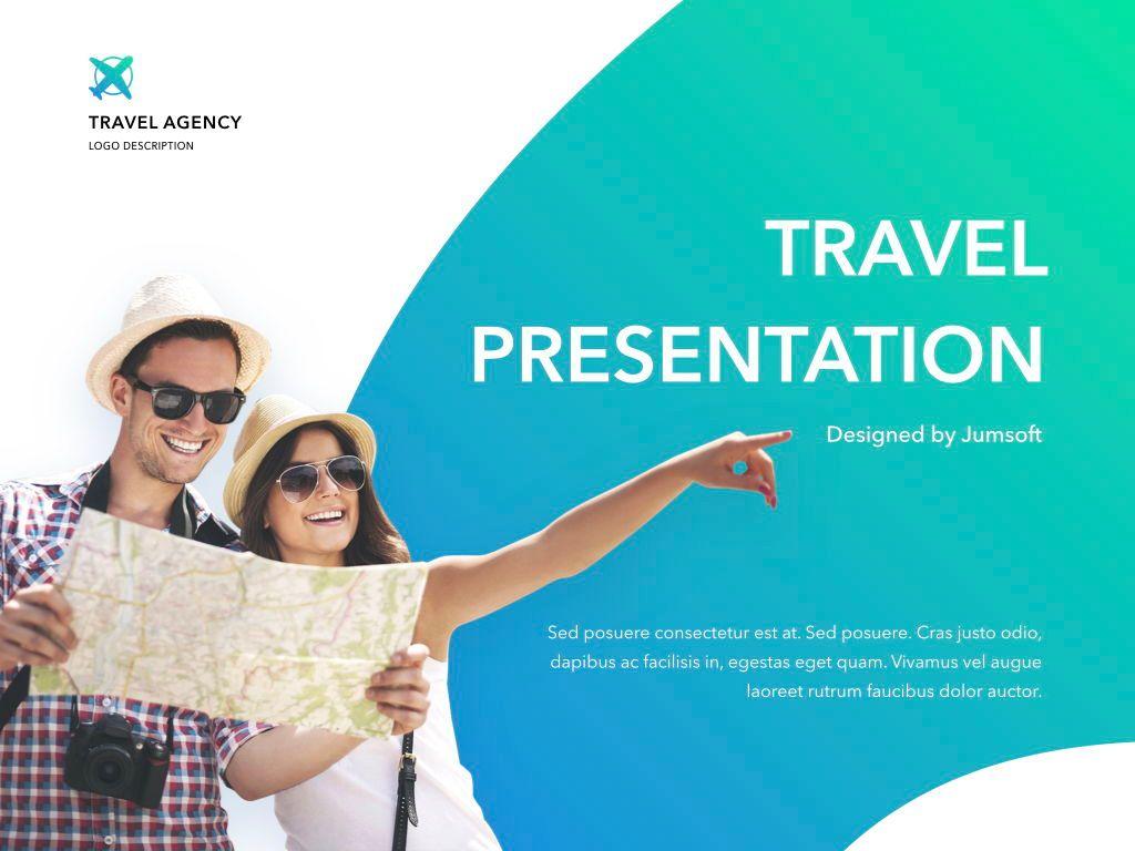 Travel Agency Keynote Template, Slide 2, 05203, Presentation Templates — PoweredTemplate.com