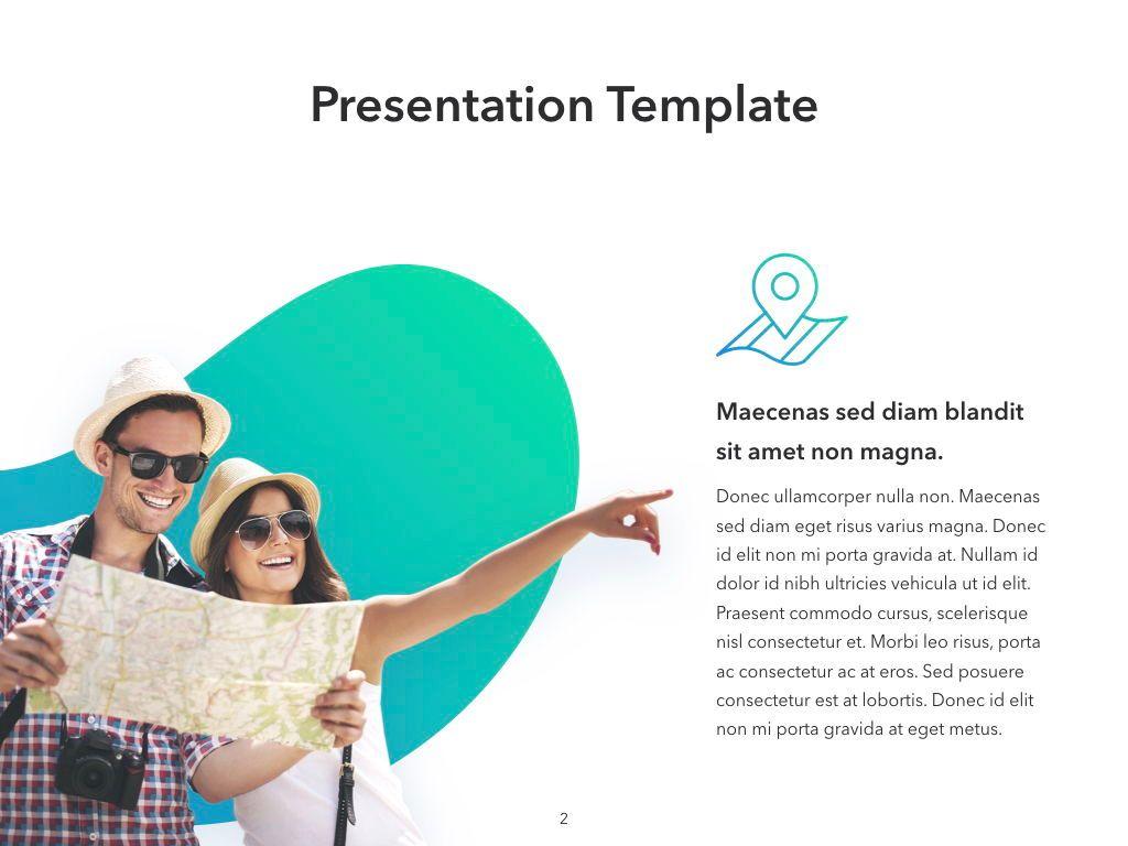 Travel Agency Keynote Template, Slide 3, 05203, Presentation Templates — PoweredTemplate.com