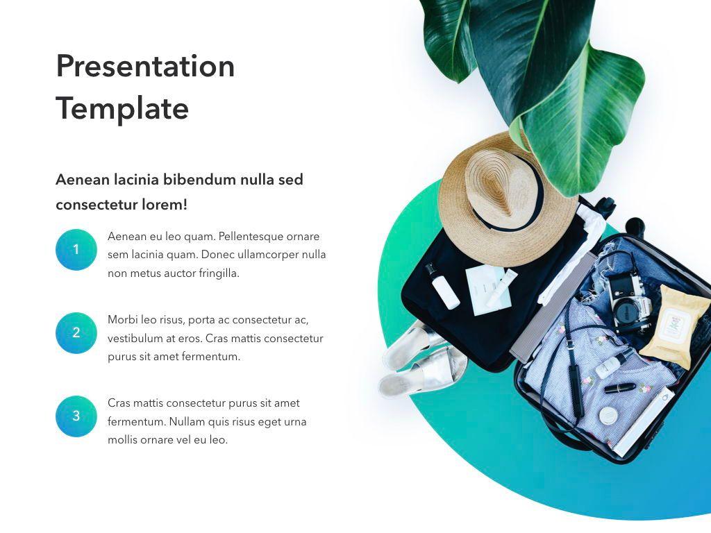 Travel Agency Keynote Template, Slide 6, 05203, Presentation Templates — PoweredTemplate.com