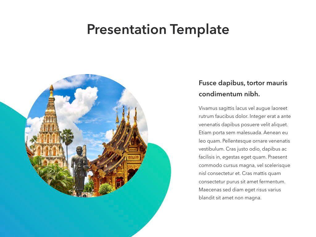 Travel Agency Keynote Template, Slide 9, 05203, Presentation Templates — PoweredTemplate.com