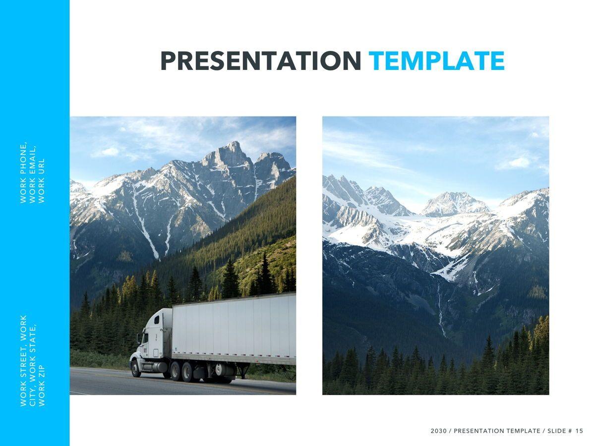 Logistics PowerPoint Theme, Slide 16, 05204, Presentation Templates — PoweredTemplate.com