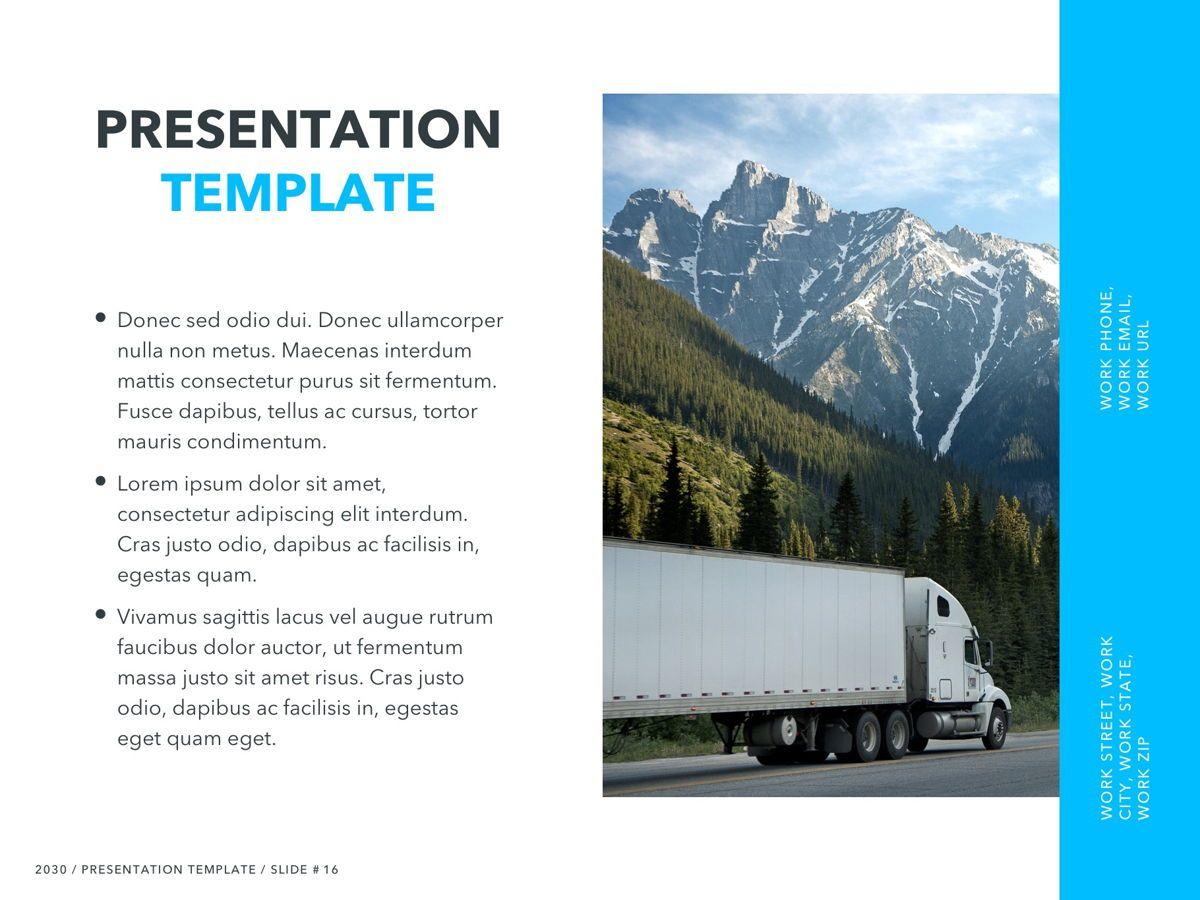 Logistics PowerPoint Theme, Slide 17, 05204, Presentation Templates — PoweredTemplate.com