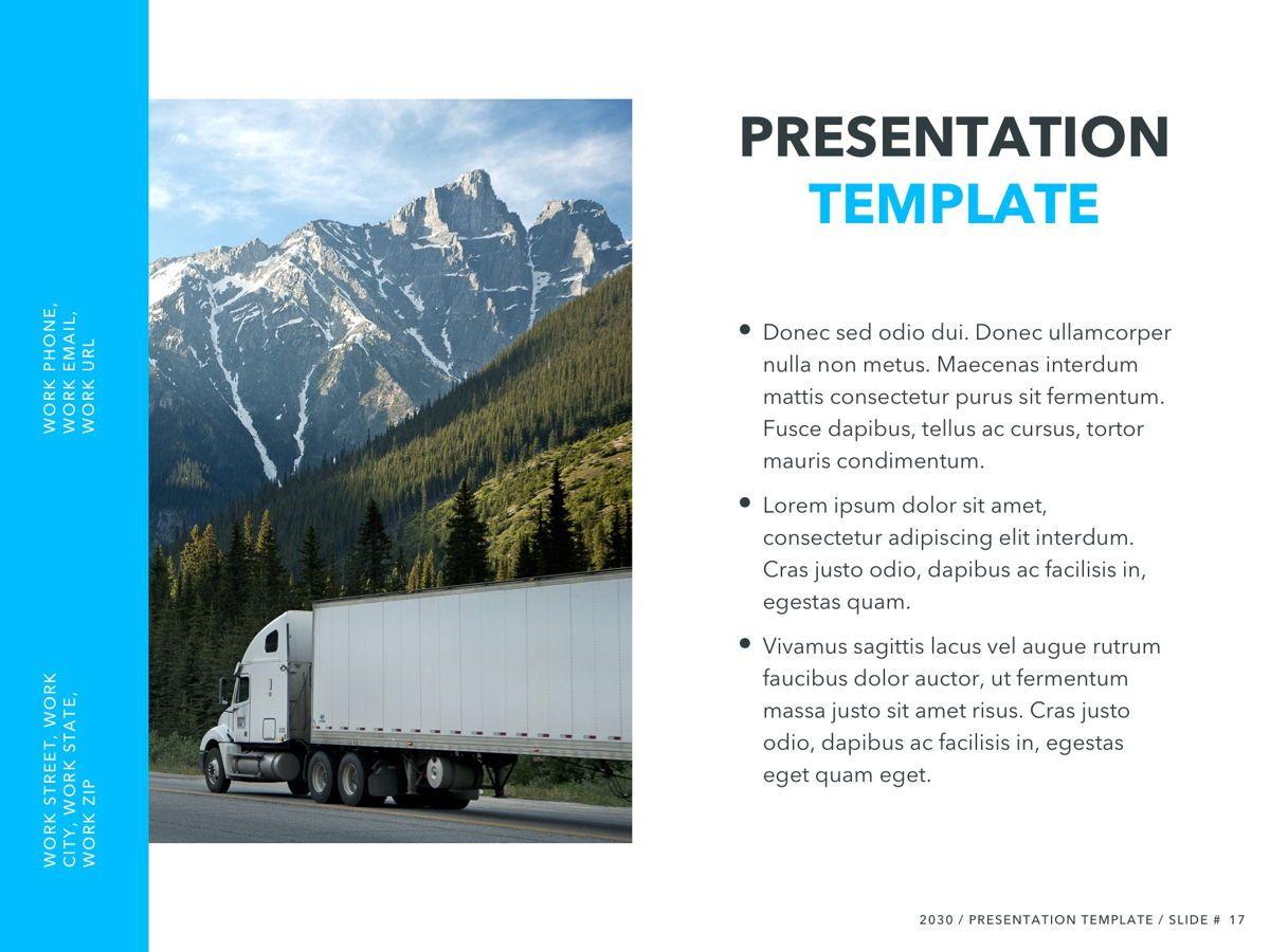 Logistics PowerPoint Theme, Slide 18, 05204, Presentation Templates — PoweredTemplate.com